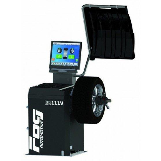 Video wheel balancer - 1 automatic rod