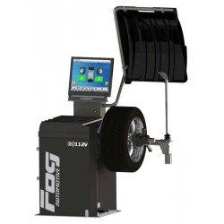 Video wheel balancer - 2 automatic rods