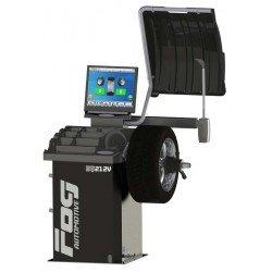 Laser Video wheel balancer - 2 automatic rods