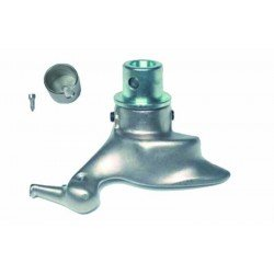 Quick tool-head for convex aluminium rims