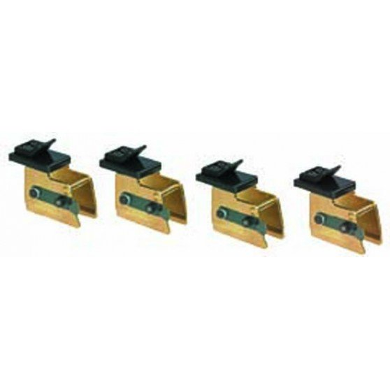 Adapters to increase the outside clamping capacity by 4''