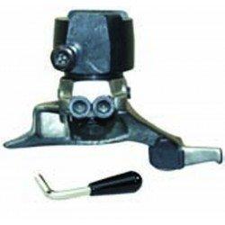 Plastic quick tool-head for rims with convex spokes