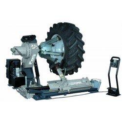 Démonte-pneus électrohydraulique - Chariot à mouvement manuel - Jusqu'à 56'' (avec rallonges)