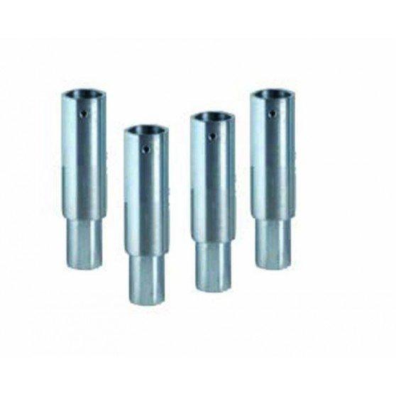 4 rallonges pour 444 9550 hauteur de 80 mm