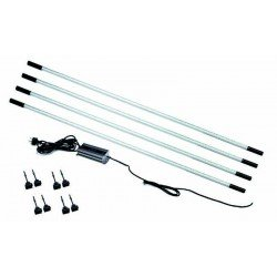 Magnetised LED lighting kit