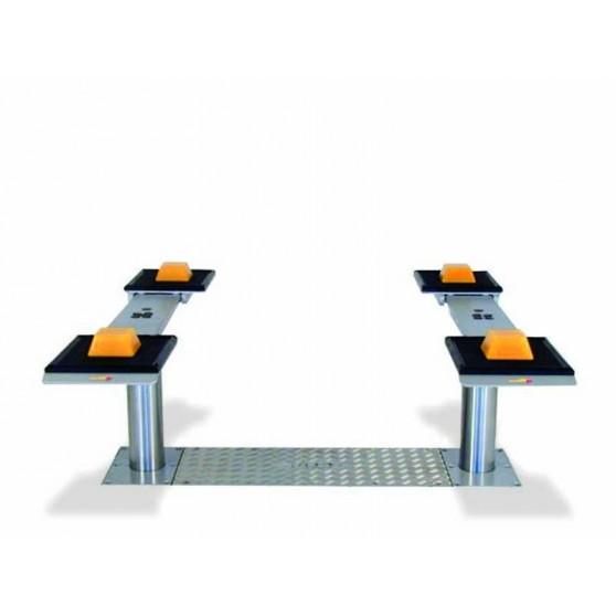 Pont VISION III 3,5T bi-vérins - Plateaux ajustables simples 1400-2000 mm