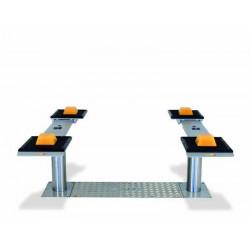 Pont VISION III 3,5T bi-vérins - Plateaux ajustables simples 1600-2200 mm