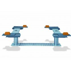 Pont VISION III 3,5T bi-vérins - Plateaux ajustables en XY 1400-2000 mm