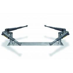 Pont VISION III 3,5T bi-vérins - Bras en V Distance extra-large - Hauteur mini 90 mm