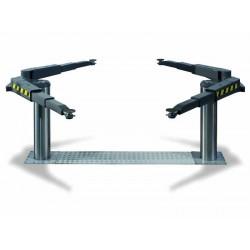 Pont VISION III 5T bi-vérins - Bras multifonctionnels et tampons