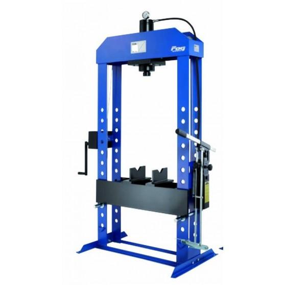 50T Workshop press + pedal + winch