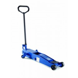2T « long chassis » air hydraulic trolley jack