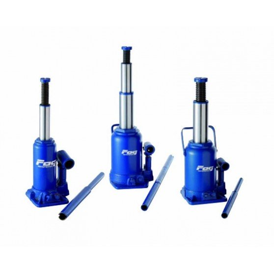 10T hydraulic bottle jack telescopic