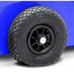 Kit roues pneumatiques pour crics