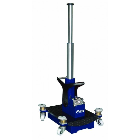 15T/30T telescopic wheeled pit jack