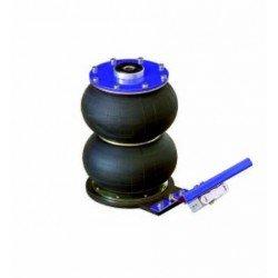 2T portable pneumatic jack - 2 pistons