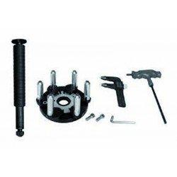 Concave rim accessories kit for