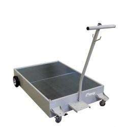 High capacity floor recovery unit for heavy duty vehicle
