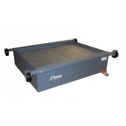 High capacity recovery unit for heavy duty vehicle pit
