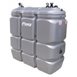 Waste oil PEHD tank 1500 L