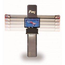 3D wheel aligner - Car/Light duty vehicle - HD cameras - Accropneu clamps