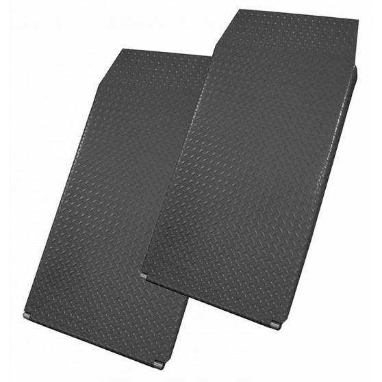 Set of 2 additional 1260 mm ramps