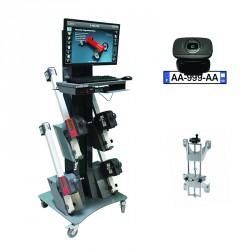 CCD wheel aligner - Car/Light Duty Vehicle - Encoder and 4-point clamps