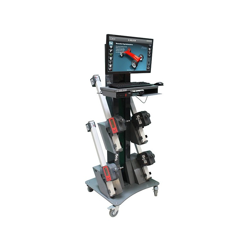 CCD wheel aligner - 3D program - Car/Light duty vehicle