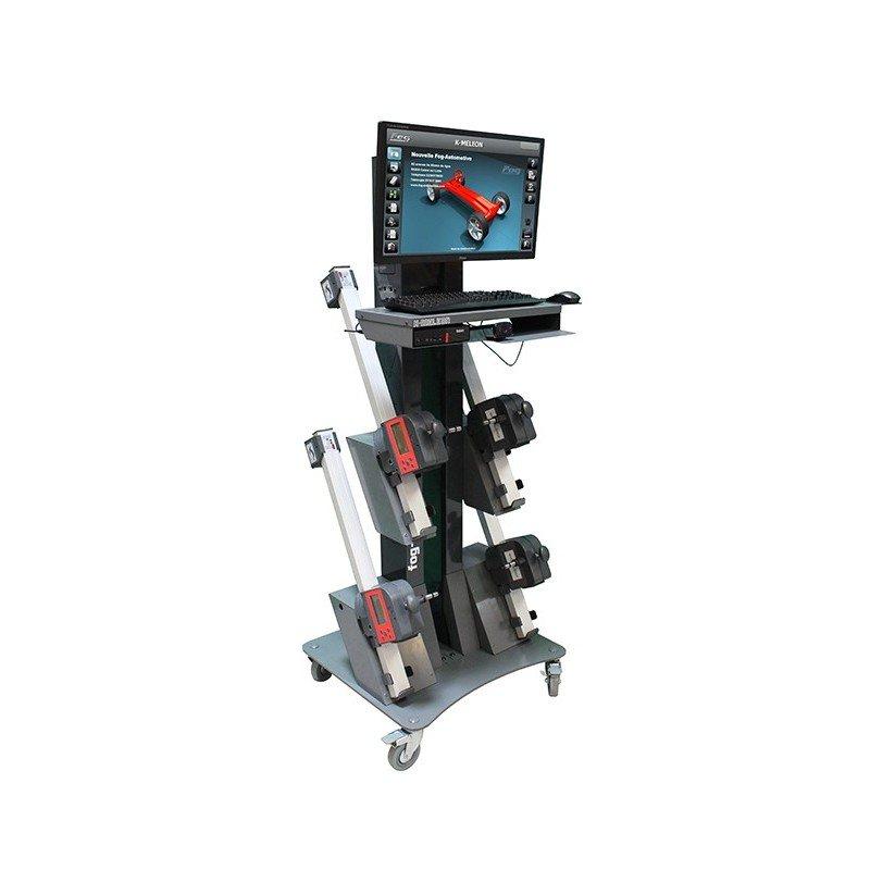 CCD wheel aligner - 3D program - Car/Light duty vehicle