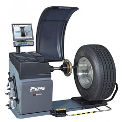 Wheel balancer - Heavy duty vehicle