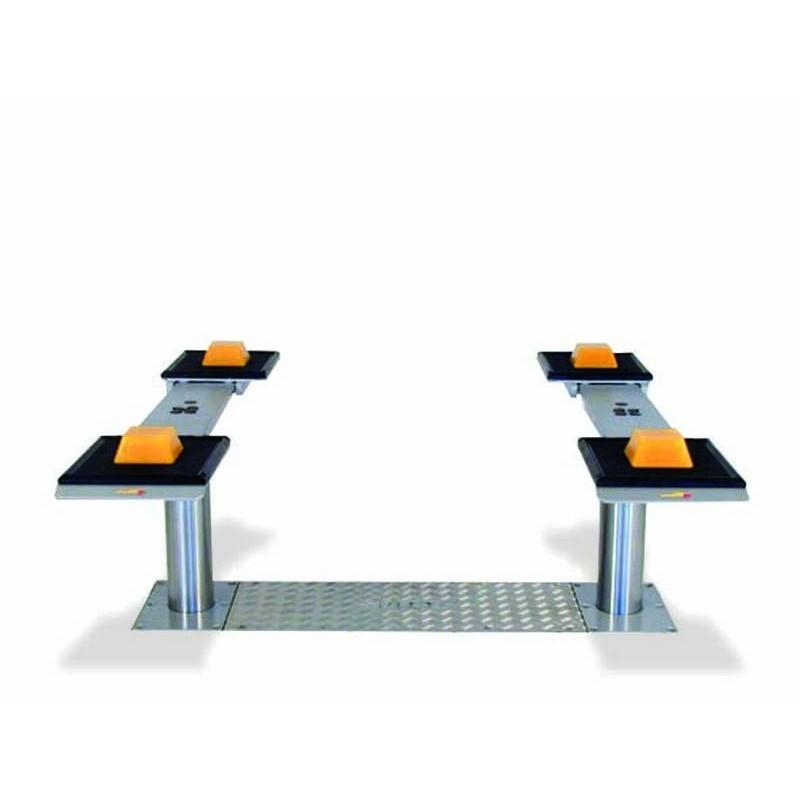 Pont à vérins 3,5T à Plateaux ajustables