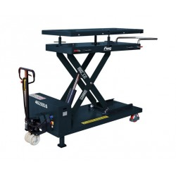 Hydraulic lifting tables