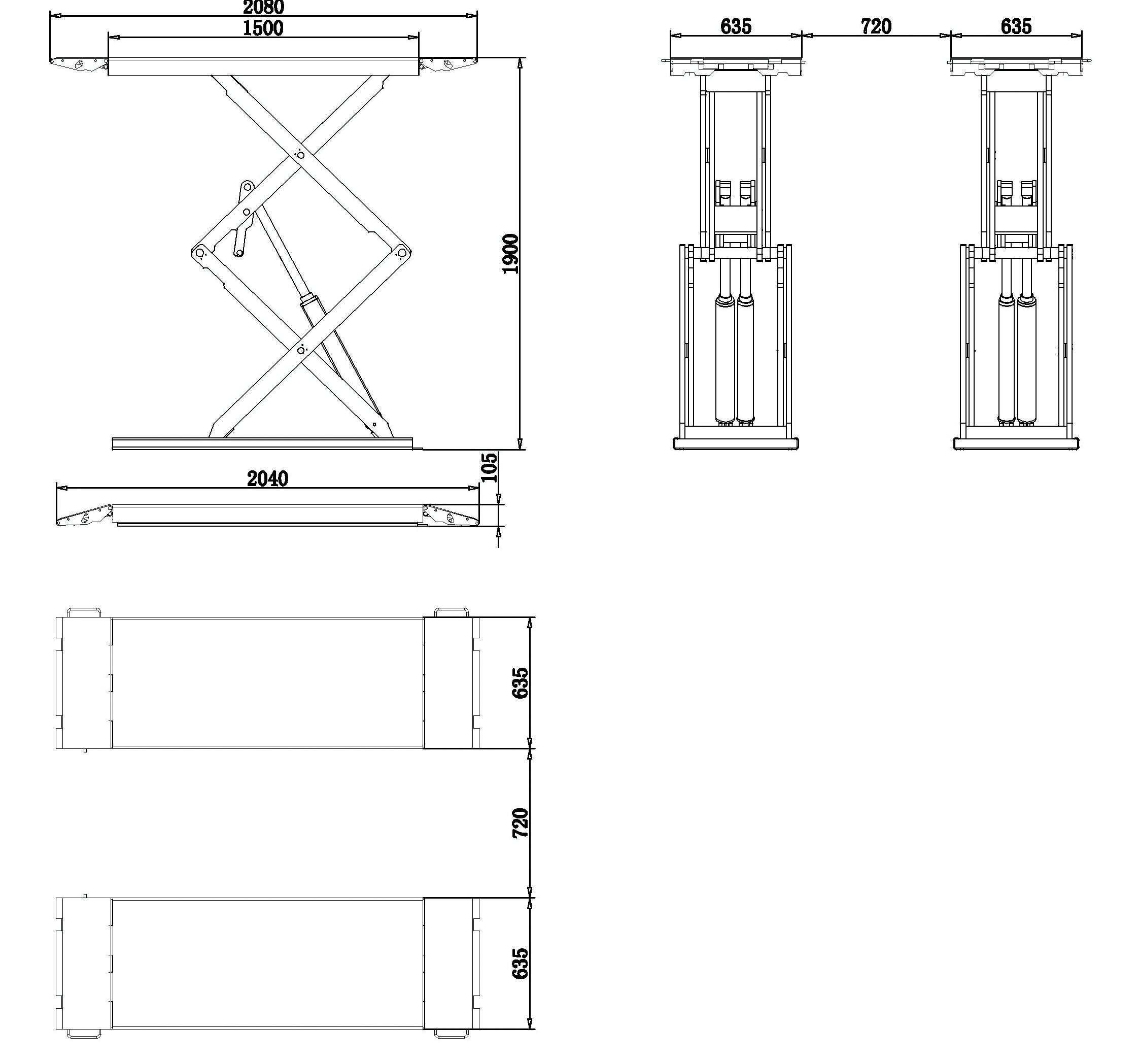 satellite 3t extra plat ponts petits ciseaux fog automotive. Black Bedroom Furniture Sets. Home Design Ideas