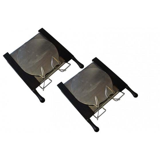 Set of 2 Passenger Car mechanical turntables for runout compensation
