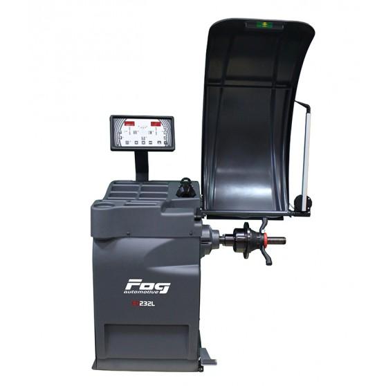 Équilibreuse LCD Laser - 2 piges automatiques