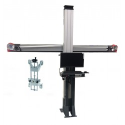 3D wheel aligner - Fixed standard furniture - Equipped with 4-point clamps