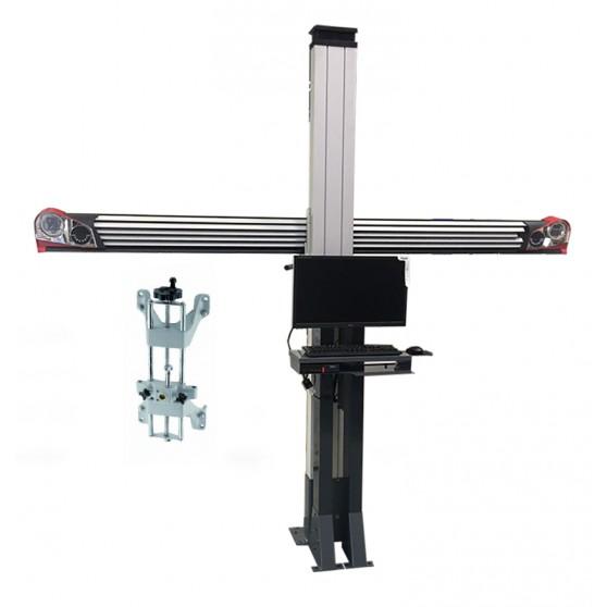 Géométrie 3D - Meuble standard fixe - Équipée de griffes standard