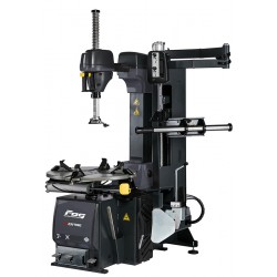 Tyre changer with speed variator, additional arm and Ergo control