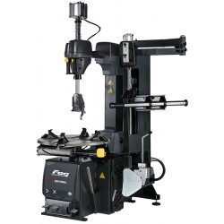 Tyre changer with speed variator, additional arm, Ergo control and Leverless