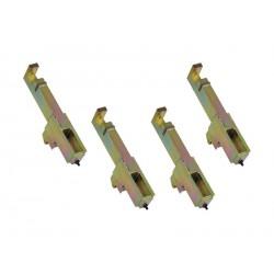 Jeu de 4 adaptateurs CATERPILLAR pour référence DP.852