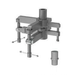 Adjustable inclination adaptor for support 1.2T