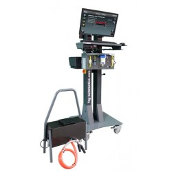 Emission tester combo with touch-screen - Bluetooth version