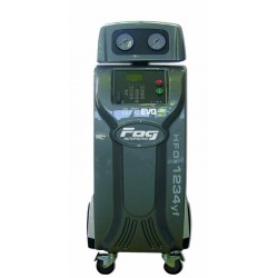 HFO-1234YF refill station - 4 scales