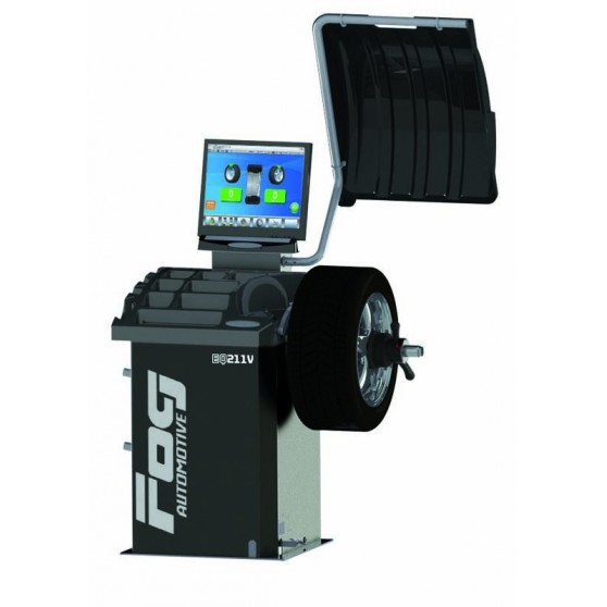 Laser Video wheel balancer - 1 automatic rod