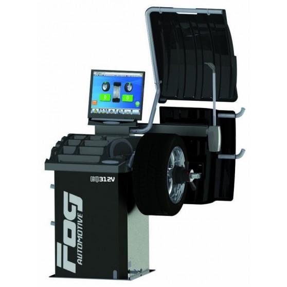 Sonar, laser and pneumatic clamping