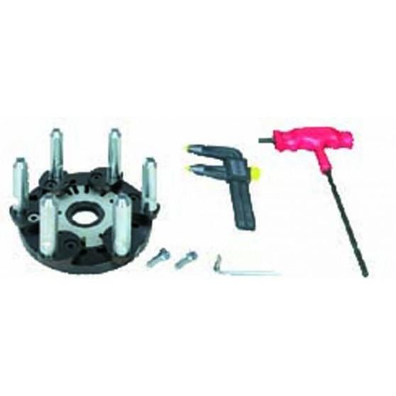 Locking kit for concave rims