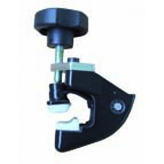 Aluminium bead pressing clamp