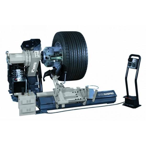 Démonte-pneus électrohydraulique - Chariot à mouvement manuel - Jusqu'à 26''