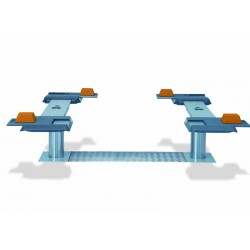 Pont VISION III 3,5T bi-vérins - Plateaux ajustables en XY 1200-1800 mm