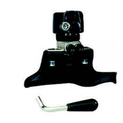 Plastic quick mounting/ dismounting tool-head